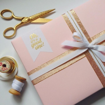 Christmas guide - glamorous gift wrapping ideas for style enthusiasts