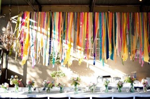 Decorating ideas for a stylish wedding reception