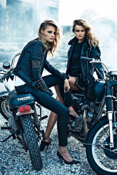 How to succeed at accessorising - Bring the biker look in your life