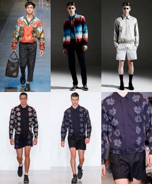 Men's Fashion Trend: Printed Bomber Jackets